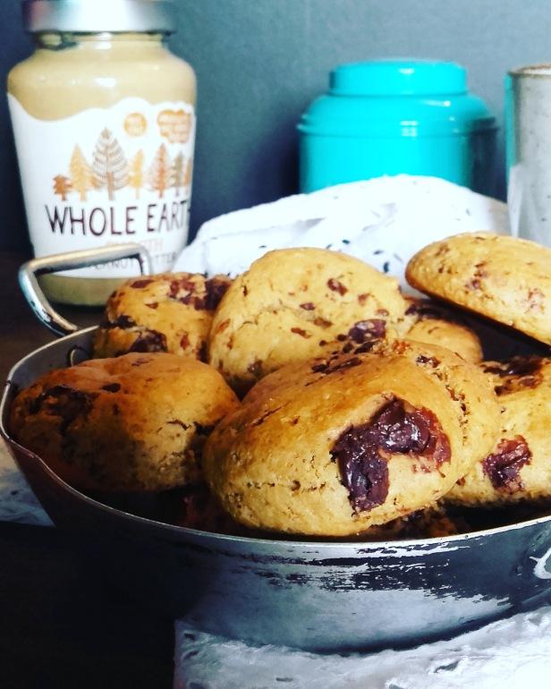 Cookies au beurre de cacahuète (peanut butter cookies)