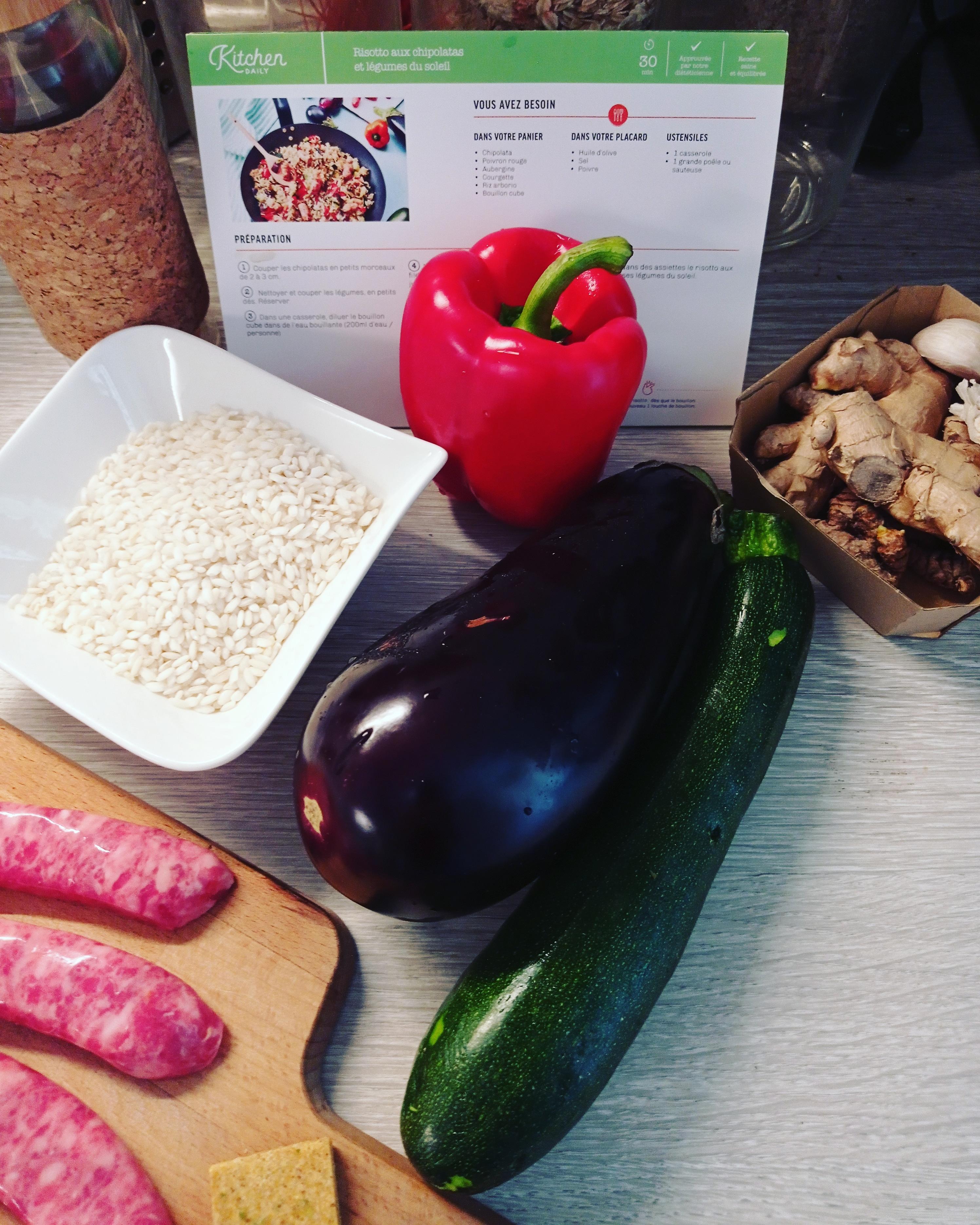 kit recette Kitchendaily